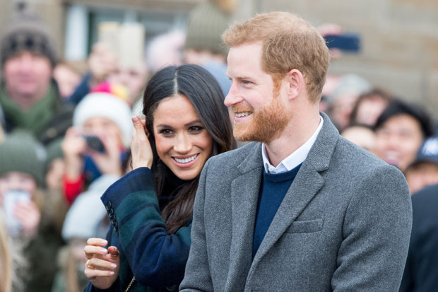 Meghan Markle, el príncipe Harry