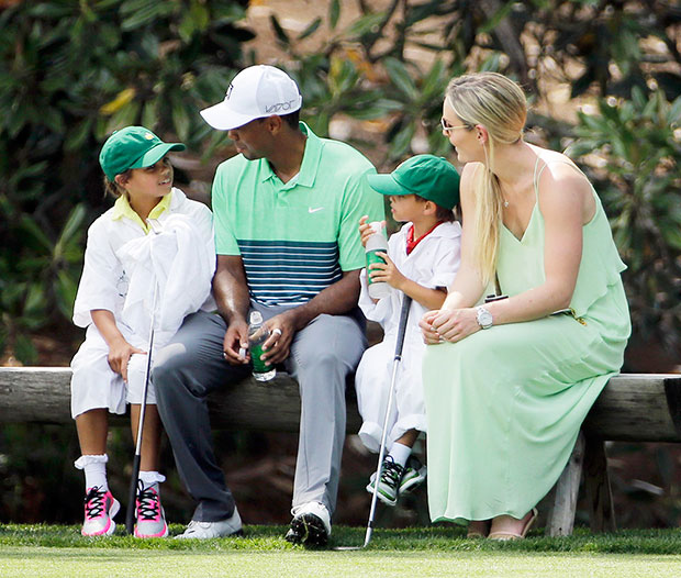 Familia Tiger Woods