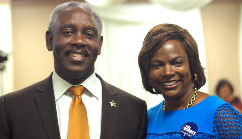 Jerry y Val Demings