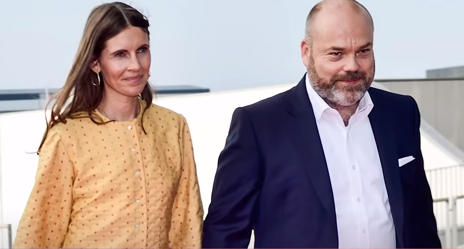 Anders Holch Povlsen y esposa Anne