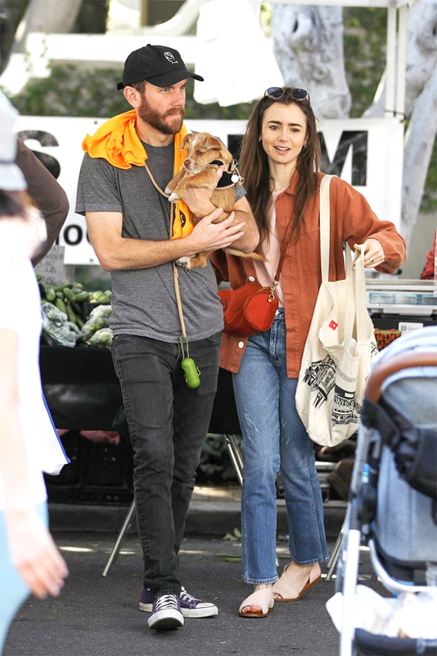 Charlie McDowell y Lily Collins